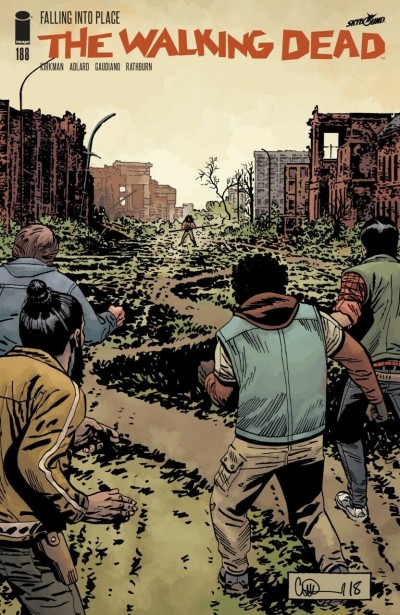 The Walking Dead (2003) #188 VF/NM Charlie Adlard Cover Robert Kirkman AMC Image