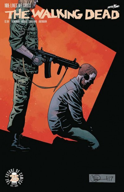 The Walking Dead (2003) #169 VF Charlie Adlard Cover Image Comics