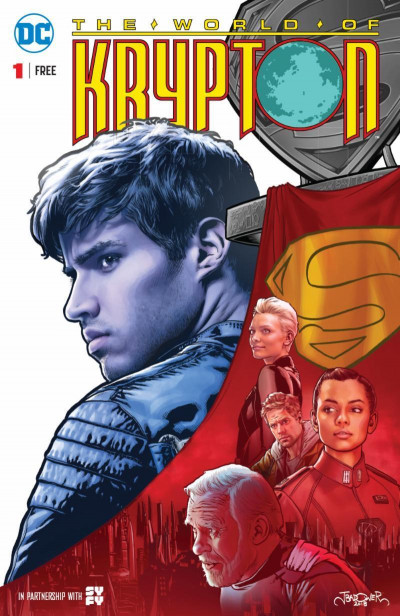 The World of Krypton (2018) #1 VF/NM Reprint John Byrne SyFy DC Comics