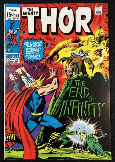 Thor (1966) # 188 VF+ (8.5) Origin of Infinity