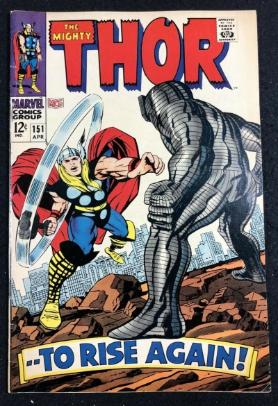 Thor (1966) #151 FN+ (6.5) Destroyer cover Inhumans origin part 6 of 7