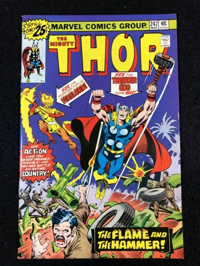 Thor (1966) #247 VF/NM (9.0) Firelord Cover & Story
