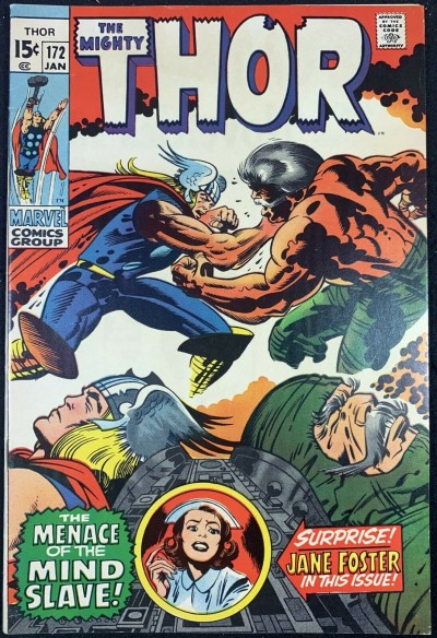 Thor (1966) #172 VF+ (8.5) Jane Foster App