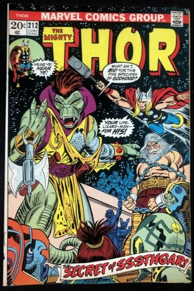 Thor (1966) #212 VF+ (8.5)