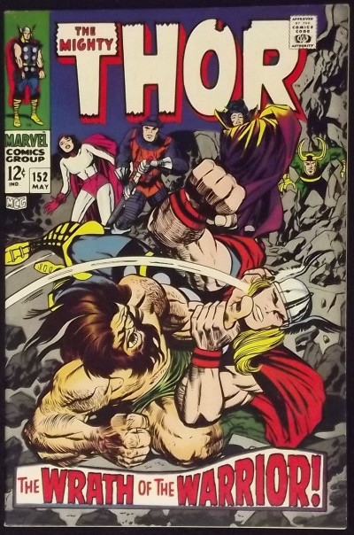 Thor (1966) #152 VF- The Destroyer Ulik Loki