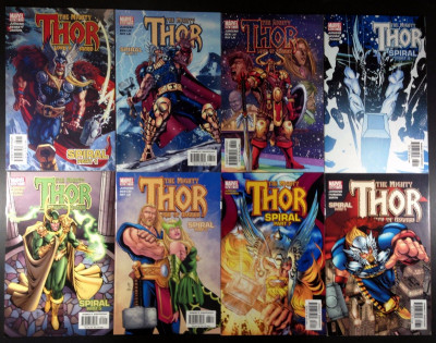 Thor (1966) 60 61 62 63 64 65 66 67 (562-569) complete 8 part Spiral Story line