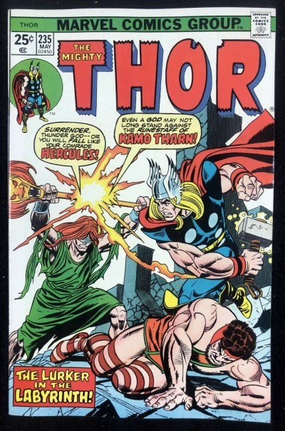 Thor (1966) #235 VF/NM (9.0) 1st App Kamo Thorn Elders of the Universe