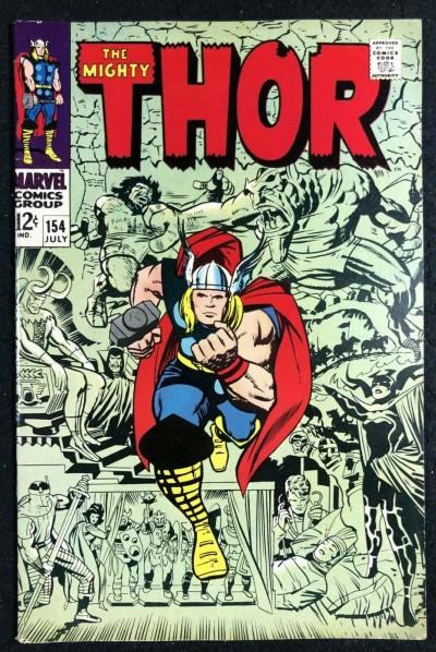 Thor (1966) #154 FN/VF (7.0) 1st app Mangog