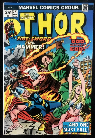 Thor (1966) #223 VF+ (8.5) With Hercules & Pluto War God