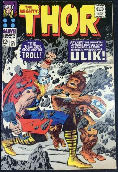 Thor (1966) #137 VF- (7.5) 1st App Ulikthetroll