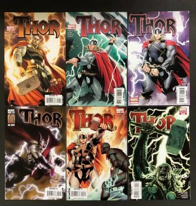 Thor (2007) #'s 1 2 3 4 Lot of 6 Books Coipel Michael Turner Bermejo Dell'Otto