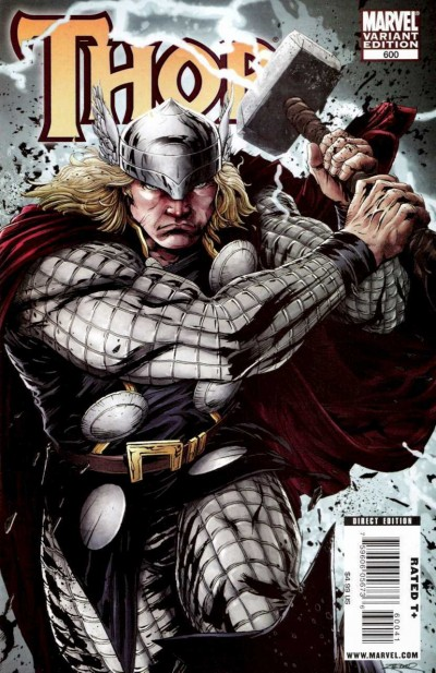 Thor (2007) #600 VF/NM 1:50 Patrick Zircher Variant Cover