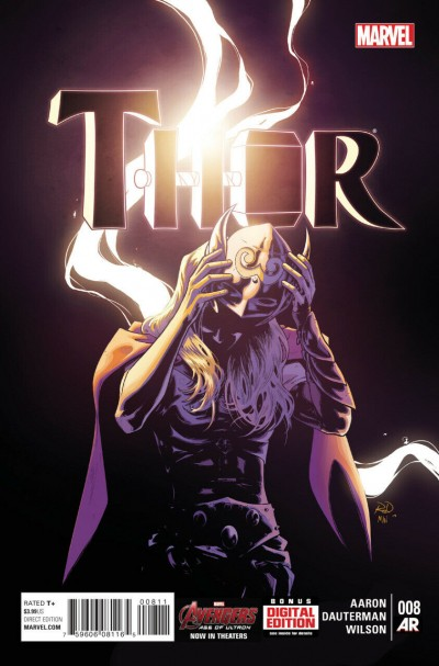 Thor (2014) #8 VF+ - VF/NM Jane Foster Revealed as the Mighty Thor