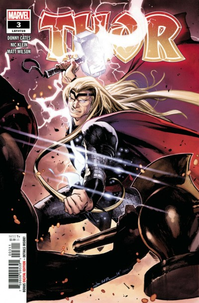 Thor (2020) #3 (#729) VF/NM-NM 1st Printing Black Winter Donny Cates