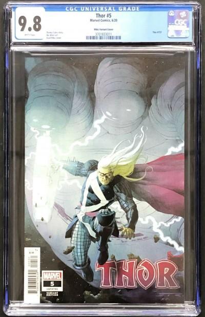 Thor (2020) #5 CGC 9.8 Ribic Variant 1st app Black Winter (3701833011)
