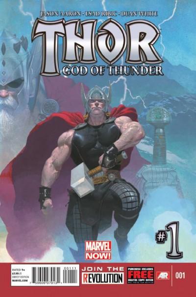 THOR: GOD OF THUNDER (2013) #1 VF/NM MARVEL NOW!