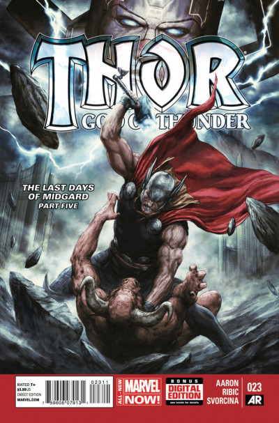 Thor: God of Thunder (2013) #23 VF/NM Esad Ribic Cover