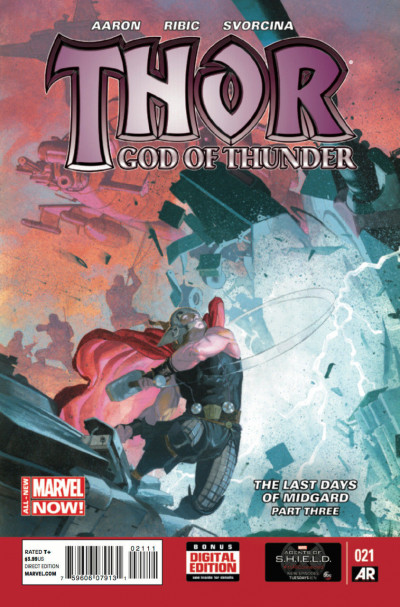 Thor: God of Thunder (2013) #21 VF/NM Esad Ribic Cover