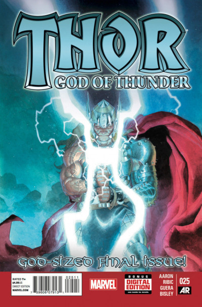 Thor: God of Thunder (2013) #25 VF/NM Esad Ribic Cover Final Issue