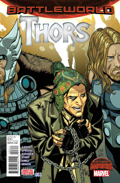 THORS (2015) #3 VF/NM