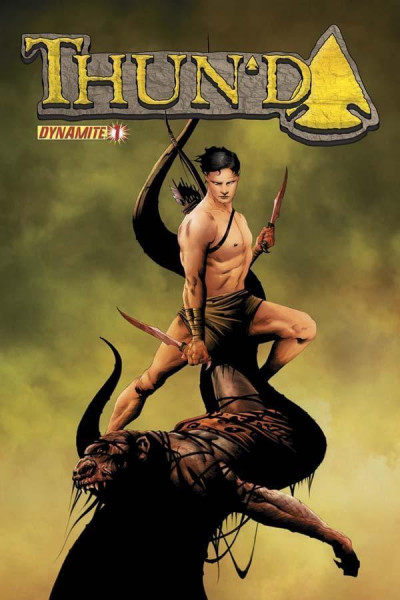 THUN'DA (2012) #1 NM JAE LEE COVER DYNAMITE ENT.
