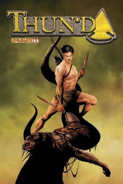 THUN'DA (2012) #1 NM JAE LEE COVER DYNAMITE ENT.
