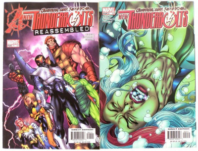 THUNDERBOLTS #1 (82) #2 (83) LOT OF 2 BOOKS