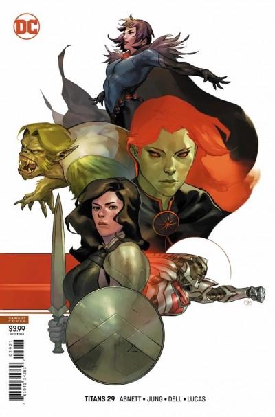 Titans (2016) #29 VF/NM Yasmine Putri Variant Cover DC Universe