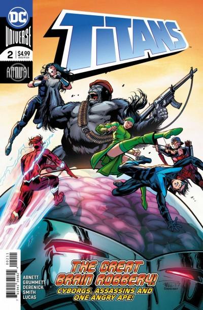 Titans Annual (2018) #2 VF/NM