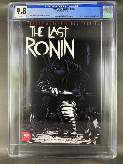 TMNT The Last Ronin (2020) #2 CGC 9.8 1st Casey Marie Jones Variant (3804288014)