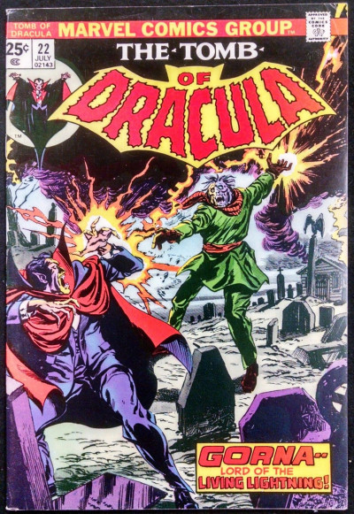 TOMB OF DRACULA #22 FN/VF GENE COLAN