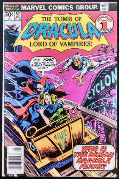 TOMB OF DRACULA #52 FN/VF GENE COLAN