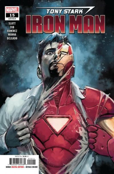 Tony Stark: Iron Man (2018) #15 VF/NM Rod Reis Cover