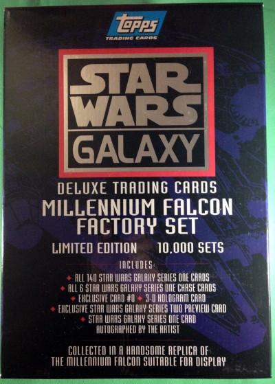 Topps Star Wars Galaxy Millennium Falcon Factory T/Card set (1993) #79/10,000