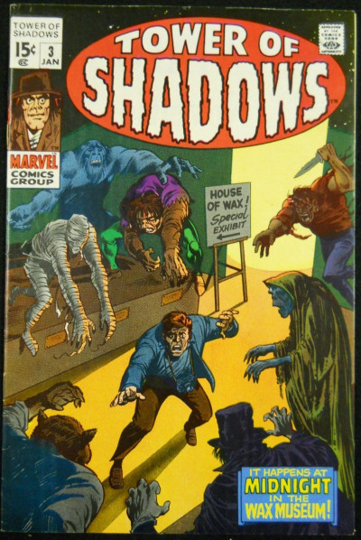 TOWER OF SHADOWS #3 FN/VF BARRY SMITH