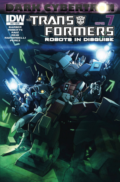 TRANSFORMERS: ROBOTS IN DISGUISE #25 VF+ IDW COVER A