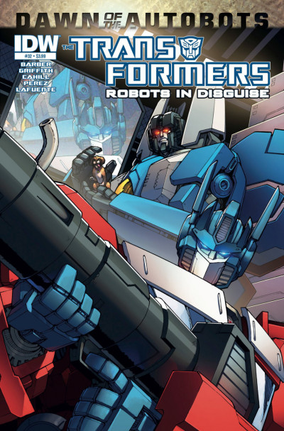 TRANSFORMERS: ROBOTS IN DISGUISE #32 VF/NM IDW COVER A