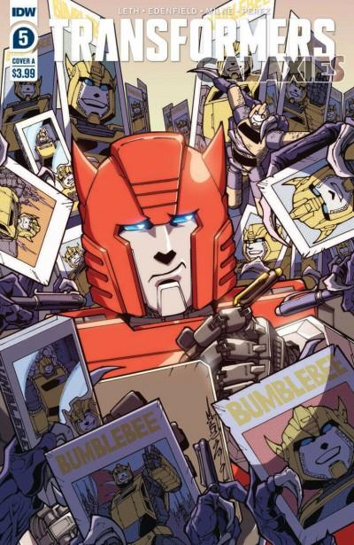 Transformers: Galaxies (2019) #5 VF/NM IDW