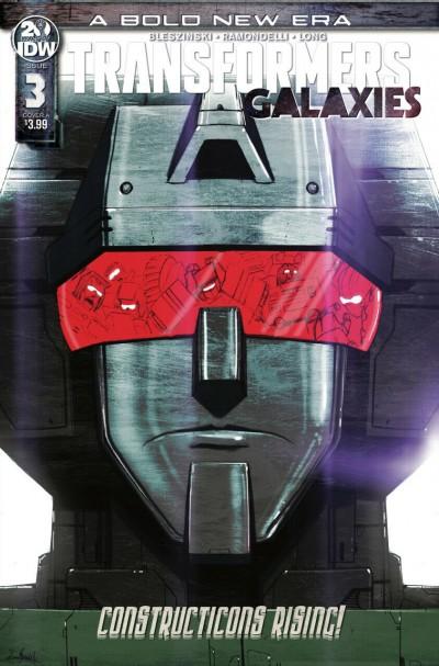 Transformers: Galaxies (2019) #3 VF/NM IDW