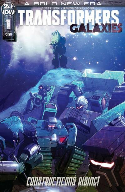 Transformers: Galaxies (2019) #1 VF/NM Cover A IDW