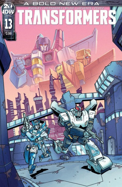 Transformers (2019) #13 VF/NM Winston Chan Cover A IDW