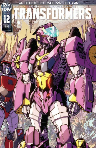 Transformers (2019) #12 VF/NM Alex Milne Cover A IDW