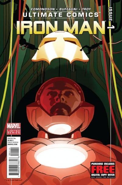 ULTIMATE COMICS: IRON MAN (2012) #1 NM
