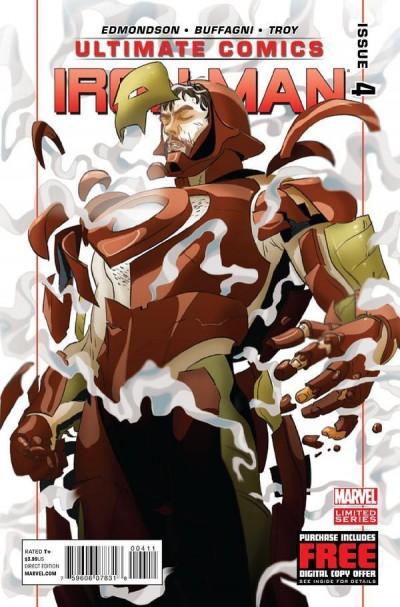 ULTIMATE COMICS: IRON MAN (2012) #4 NM