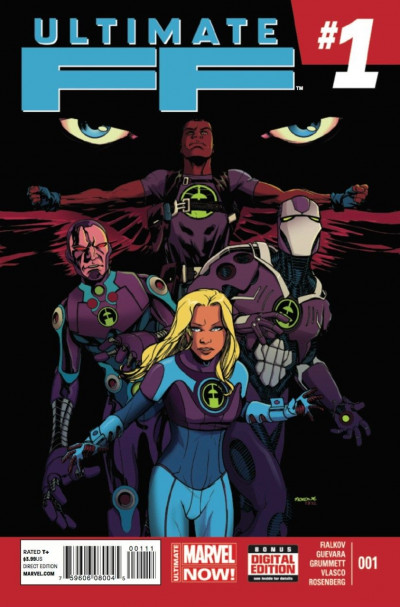 ULTIMATE FF (2014) #1 VF/NM MARVEL NOW