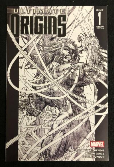 Ultimate Origins (2008) #1 VF/NM 1:75 Michael Turner Sketch Variant Cover