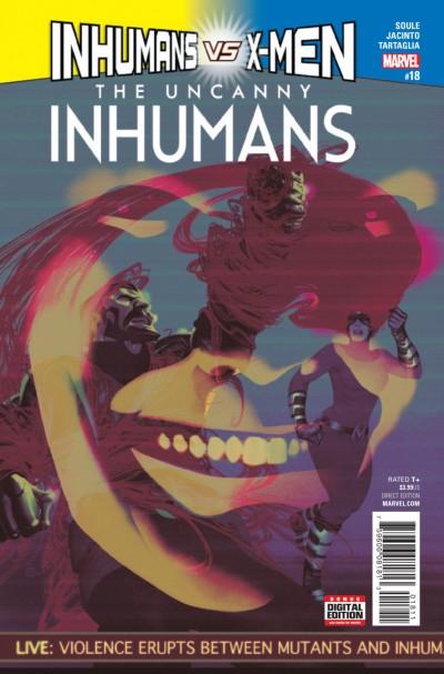 Uncanny Inhumans (2015) #18 VF/NM (9.0) vs X-Men