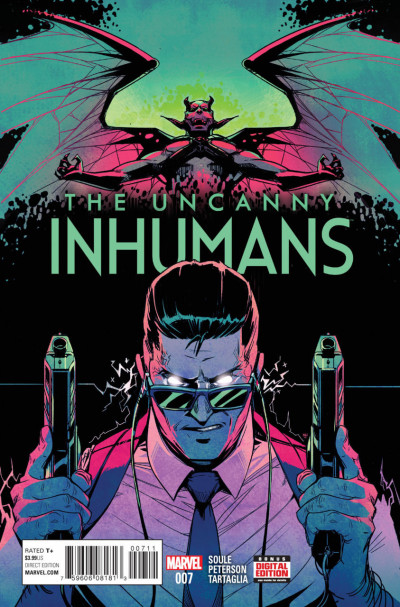 Uncanny Inhumans (2015) #7 VF/NM