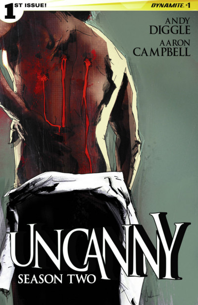UNCANNY: SEASON TWO (2015) #1 VF/NM COVER A JOCK DYNAMITE