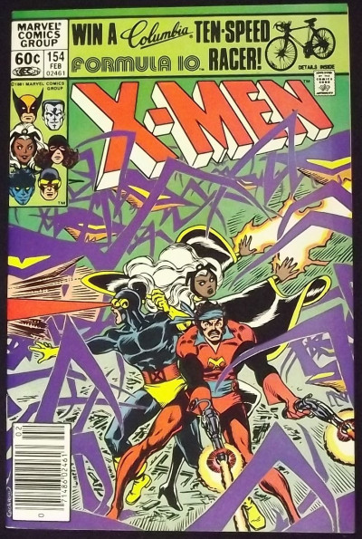 UNCANNY X-MEN #154 VF DAVE COCKRUM ART